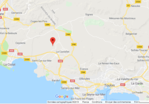 Les Laurines google map