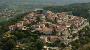 Les Laurines le castellet village