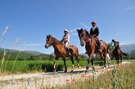 Les Laurines randonnée cheval